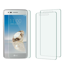 High quality 0.33mm 2.5D ultra thin Tempered Glass Toughened Guard for LG stylus 3/k3 2017/k10 2017