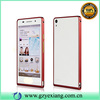 High quality bumper metal case for huawei ascend p6