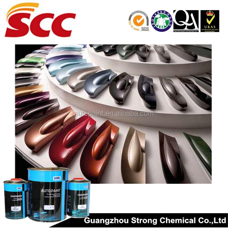 Paint Colors And Brands: Unic Brand Automotive Metallic Paint Colors