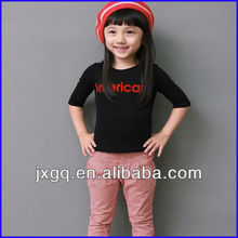 2013 new fashion design lovely cotton t shirt baby t shirts