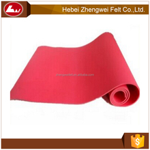 High Quality Soft Colorful Needle Punched Polyester Felt Fabric