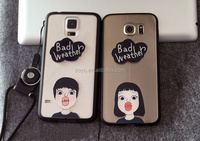 3D soft tpu cartoon lover case for samsung