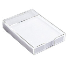 Clear acrylic A4 paper holder