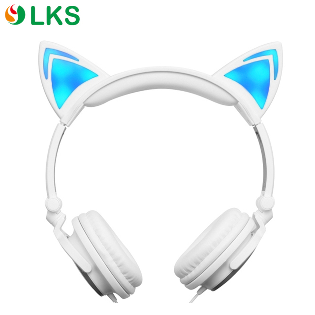 China manufacturer directory cheap stylish cat ear headband headphone