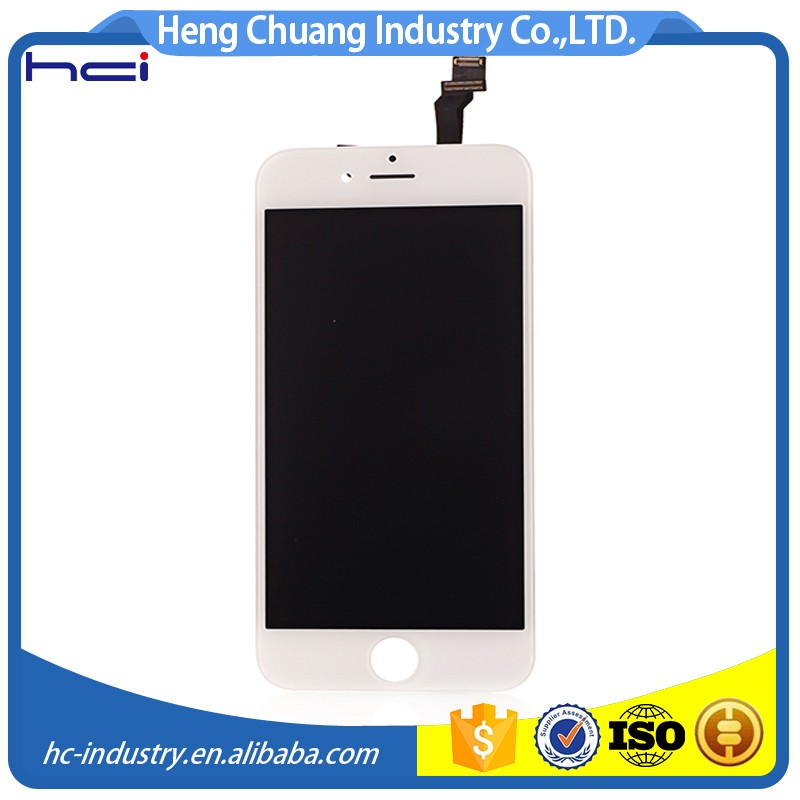 "4.7"" Replacement Touch Screen Digitizer For iphone 6 <strong>Lcd</strong> with Bezel Frame Assembly"