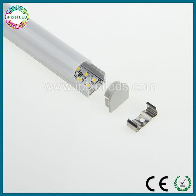 Aluminium Round Face Profile for LED Strip Light Under Cabinet light