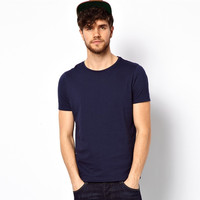 unbranded blank t-shirts with crew neck