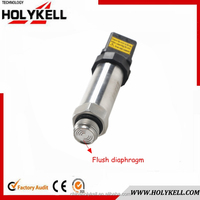 Flush diaphragm sanitary pressure gauge for industry application