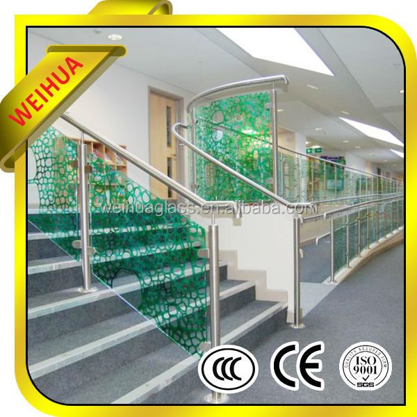 Shandong Weihua high quality best price tough tempered ceramic frit glass