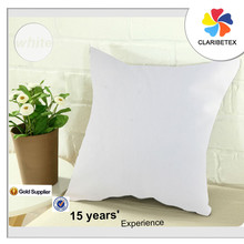 Linen cotton fabric white plain dyed chair pillow sofa cushion cover