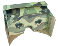 Christmas Gift DIY Google cardboard 3D glasses with NFC tag , Headband