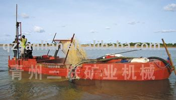 sand barge