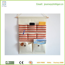 8 pockets Fabric Wall Door Cloth Hanging Storage Bag Case organizer