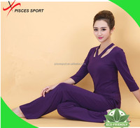 latest style long outdoor yoga pants wholesale