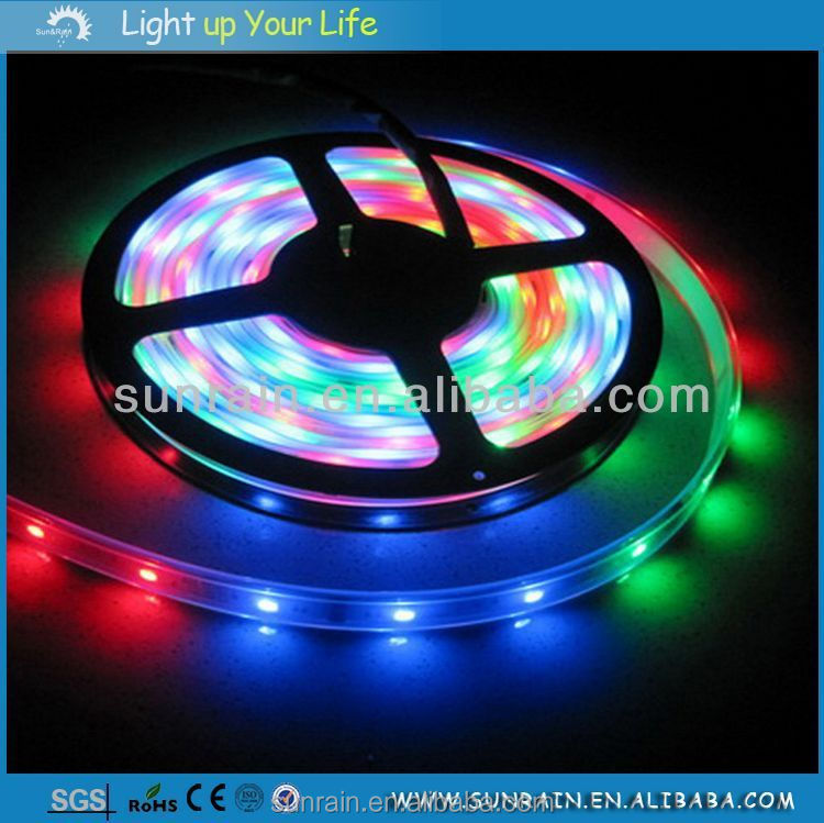 2016 Edge Light 12V Smd 3528 Epistar Chip Flexible Led Strip Light for Holiday/ Party/ Wedding Decoration