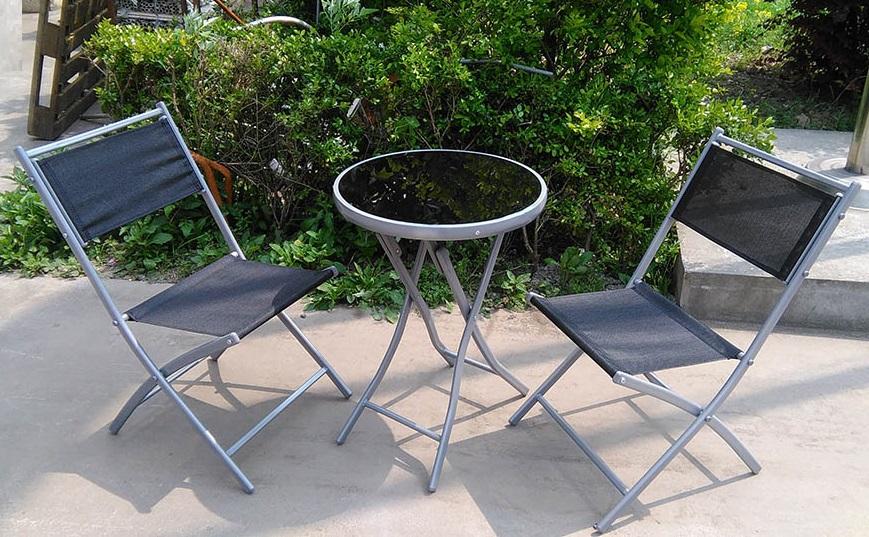 Garden Furniture 3 Piece Cheap Bistro Set For Camping