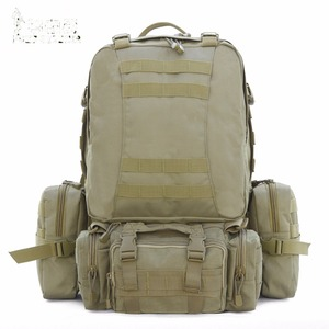 New Combined Army Green Trekking Bag Military Camping Backpack, Camo Hiking Backpack, Sport Bags