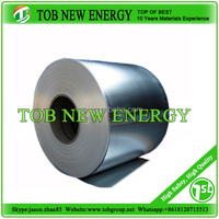 High quality aluminium strips for li ion battery cathode material