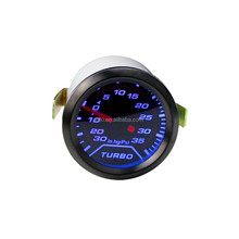 auto gauge led color digital waterproof auto gauges digital turbo boost gauge