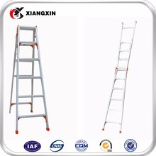 best price aluminium double side step ladder with side rail