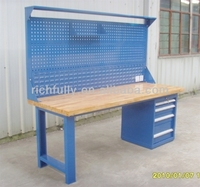 2015 widely used industrial workbench with drawer