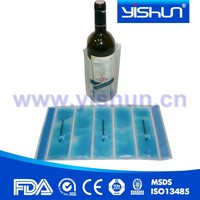 OEM printed PVC wine bottle cooler bags