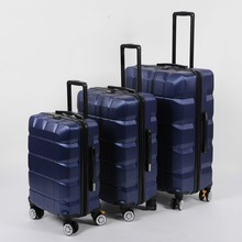 Business travel box 4 Wheeled Carry On Luggage Hard Side Spinner Travel Case 3pcs Storage Rolling Suitcase luggage