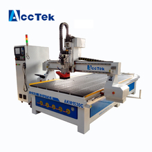 Acctek 3d Automatic tool change cnc router for wood carving , 1325 cnc router atc