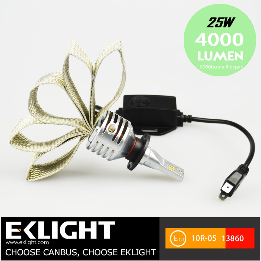 Best LED No Fan Type h7 h11 Car Headlight Bulbs CANBUS Conversion Kits For Automotive