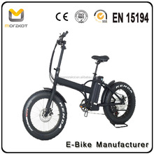 2017 Morakot MX7 CE Certification Bafang 250W Motor Sand Snow 4.0 Fat Tyre Mini 20 inch Electric Fatbike Foldable