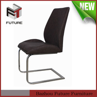 europe design modern wooden seat metal legs dining chair