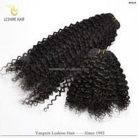 Beauty Private Label Hair Brands Best Quality Double Weft Full Cuticle spiral curl human hair weaving
