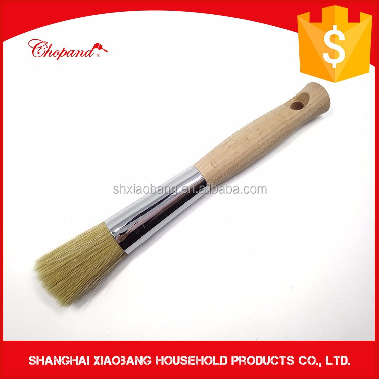 Wholesale 12pcs Per Set Short Wood Round Paint Brush