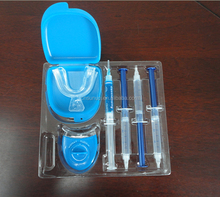 teeth whitening kit support OEM private logo package