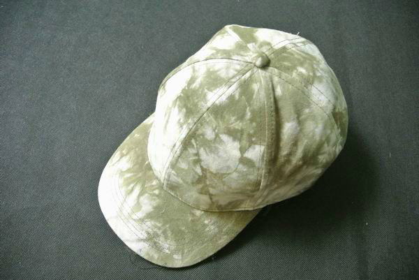 New mens pad dyed 6panel cap