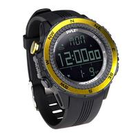 PyleSports Digital Multifunction Active Sports Watch with Altimeter (Yellow)