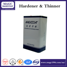 Hardener for professional auto repair paint
