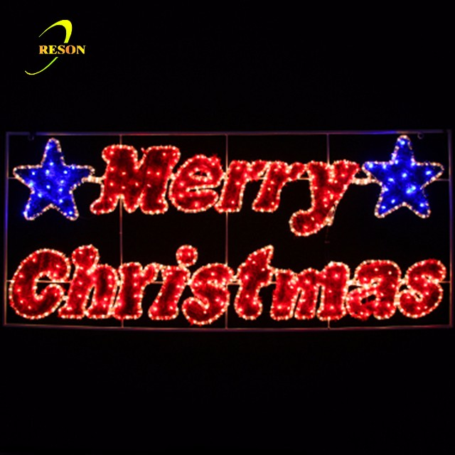 Christmas Party Street Decoration Motif Lights