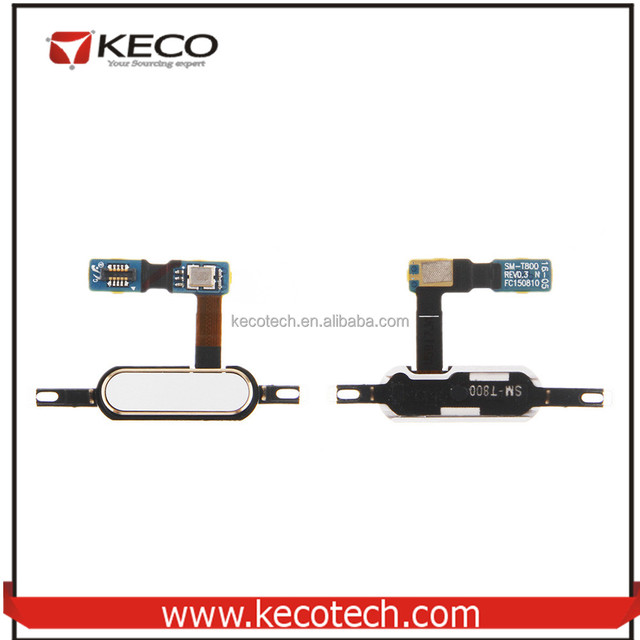 Home Button Flex Cable For Samsung Galaxy Tab S 10.5 T801 t805 SM-T801 SM-T805, For Samsung T801 T805 Home Button Flex Cable