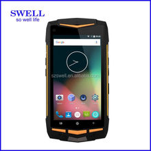 Ultra-rugged 5inch IP68 mobile phone, 4G SOS NFC PTT Scanner smart phone, 4g lte android 5.1 oem smartphone