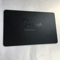 Matte surface printing with UV finished high standard pvc Business Cards