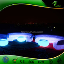 Colorful Custom Size Inflatable Sofa with LED Inflatable Air Sofa Bed Outdoor Gaint