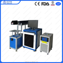 Co2 Laser Marking Machine For Bamboo Crafts/gift/furniture/food Packing/electronic Components/
