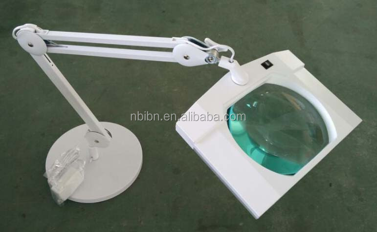 STEADY table/desk magnifying LED lamp 9002LED-TS