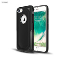 in stock for apple iphone 7, black 2 in 1 PC case cover for iphone 7