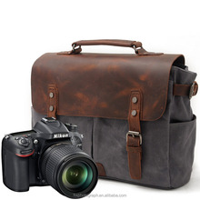 New Arrival Manufactuer Canvas Leisure Camera Messenger Bag