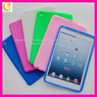 Latest design hot selling silicon penguin cover case for ipad mini for friends