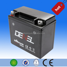 China Motorcycle Battery Manufacturer YTX7-BS