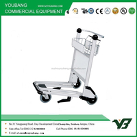 3 Wheels Airport Luggage Trolley With