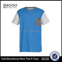 MGOO Hot Sale Mens Slim Fit T Shirt Sportwear Custom Cheap Dry Fit Mans T Shirts With Pockets